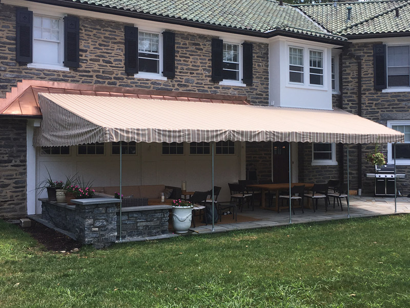 Patio Canopy Customized To Fit Maccarty And Sons Awnings