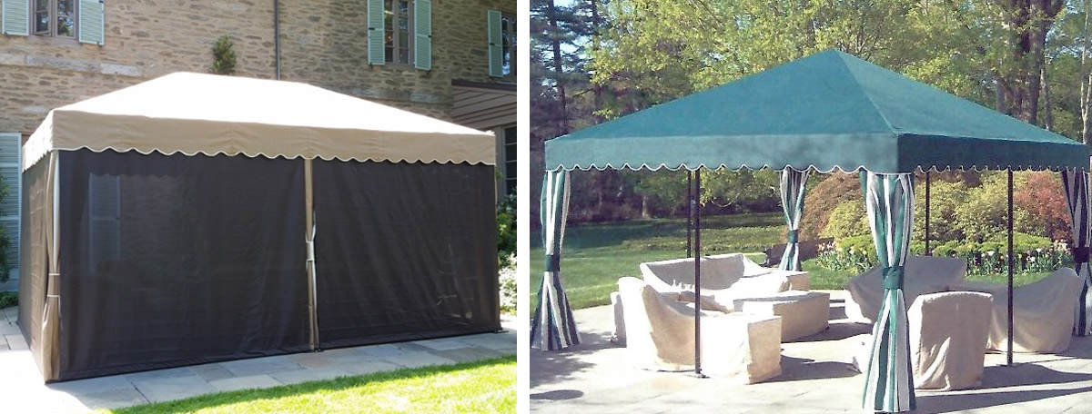Free standing seasonal canopies & Free standing seasonal canopies - MacCarty and Sons Awnings u0026 Canopies